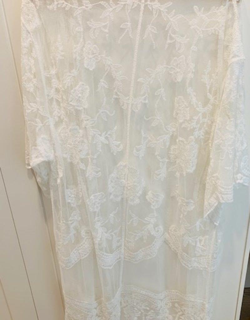 Floral Cotton Kimono LONG
