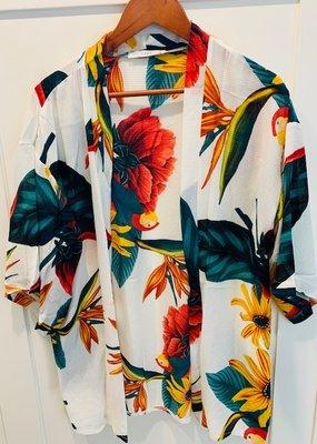 Sunflower Kimono SHORT