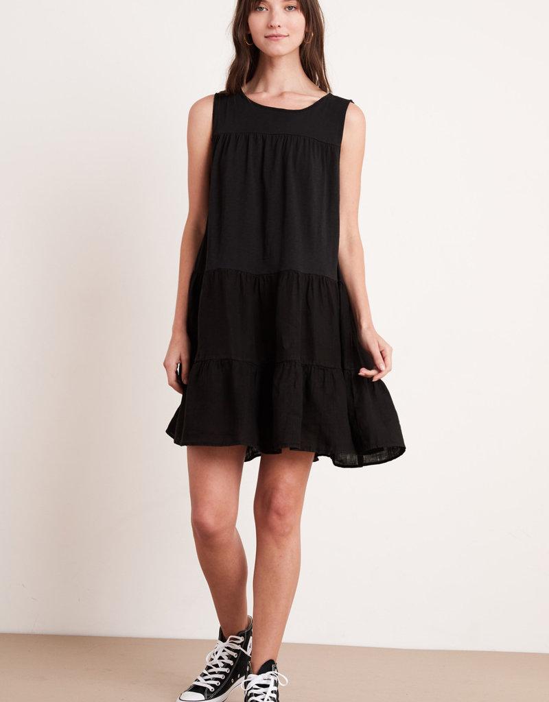 Charlotte Cotton Slub Short Dress