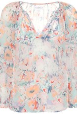 Jessa Watercolor Blouse