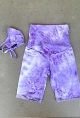 Joah Love Tie Dye Biker Shorts Adult