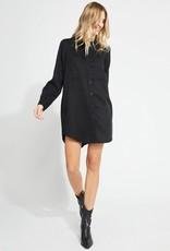Aiden Button Shirt Dress