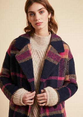 Sofia Check Coat