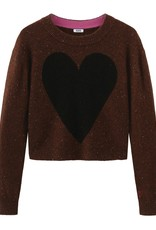 Ombre Heart Cashmere