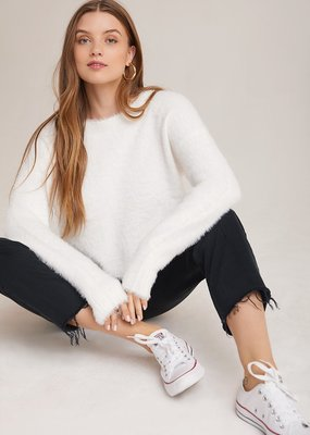 Fuzzy Slouchy Sweater