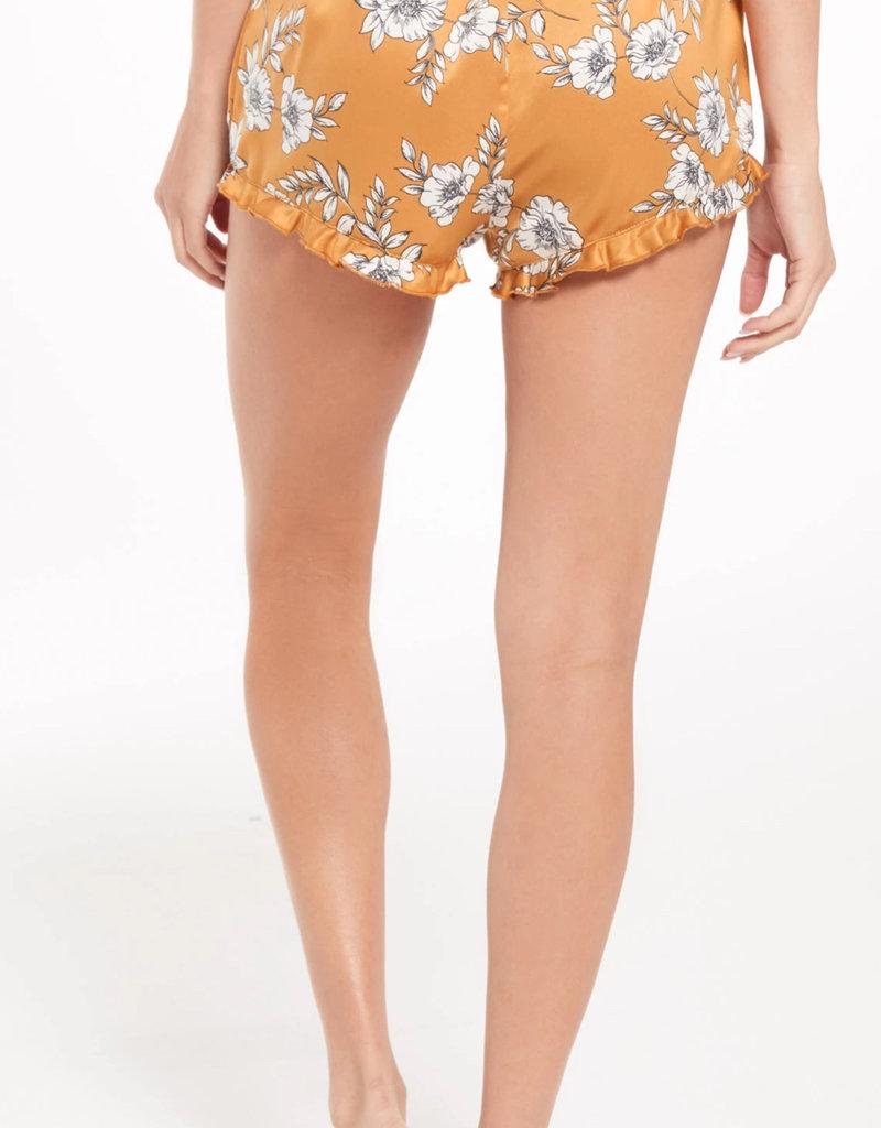 ZS Satin Floral Short