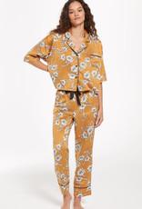 ZS Satin Floral PJ Set