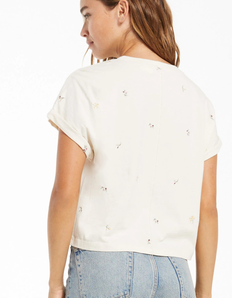 ZS Embroidered  Tee