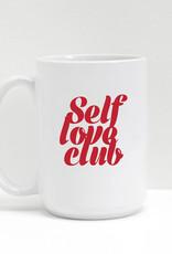 Brunette 'Self Love' Mug