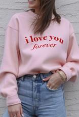 Brunette 'I Love You' Core Crew