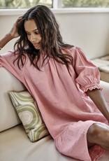 Velvet Bernice S/S Linen Dress