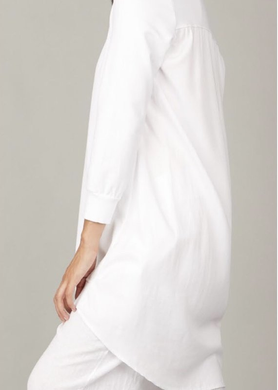 Pistache Sweater Dress with Tencel Back