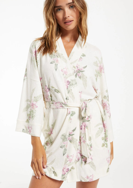 *Pre-order* ZSL Vacay Floral Robe