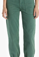 MOTHER The Wrapper High Waist Ankle Jogger Jeans