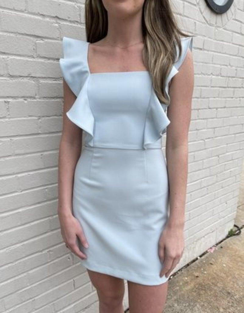 FC Square neck Ruffle Dress