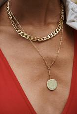 Pilgrim Compass Necklace