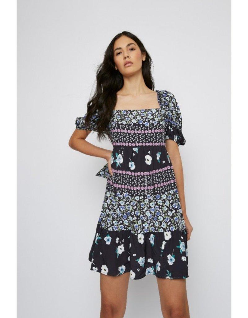 GLAM KK0156 Dress Multi Flower