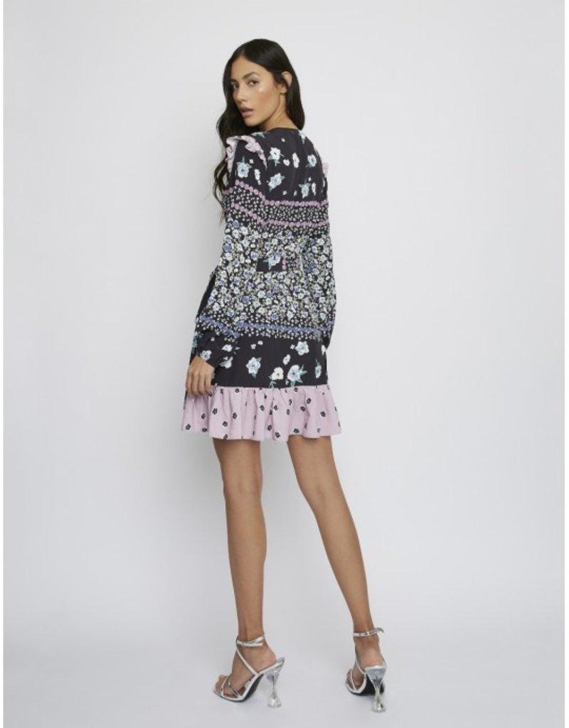 GLAM KK0163 Dress Multi Flower