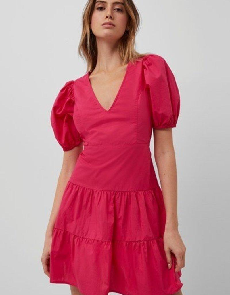 FC Birch Poplin Puff Dress