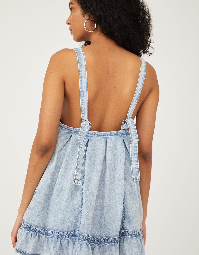 FP Wild One Denim Mini dress