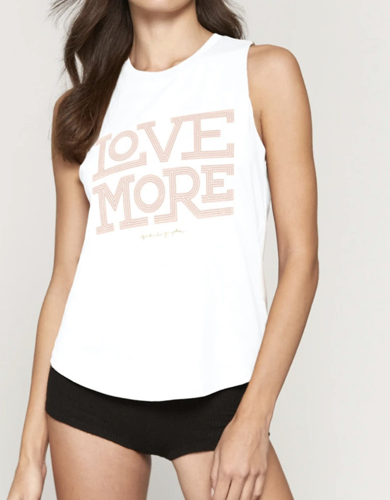 SG Love More Muscle Tank