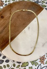 14k gold fill Herringbone Chain