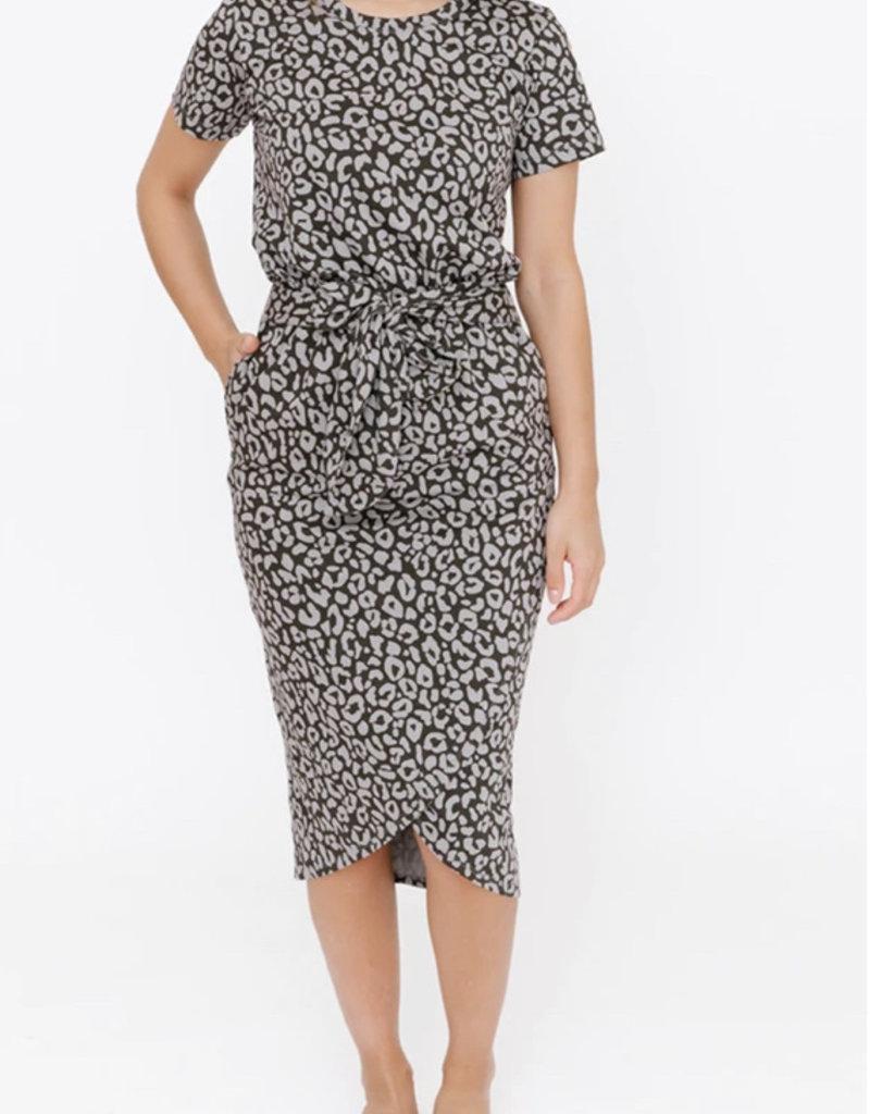S + T Rebecca Wrap Dress