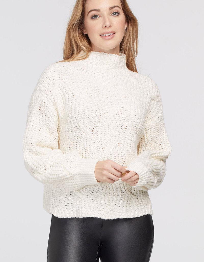TRI High Neck Oversized Sweater
