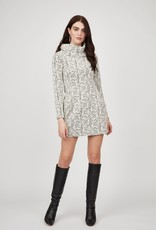 Pistache Quilted Tunic Dress