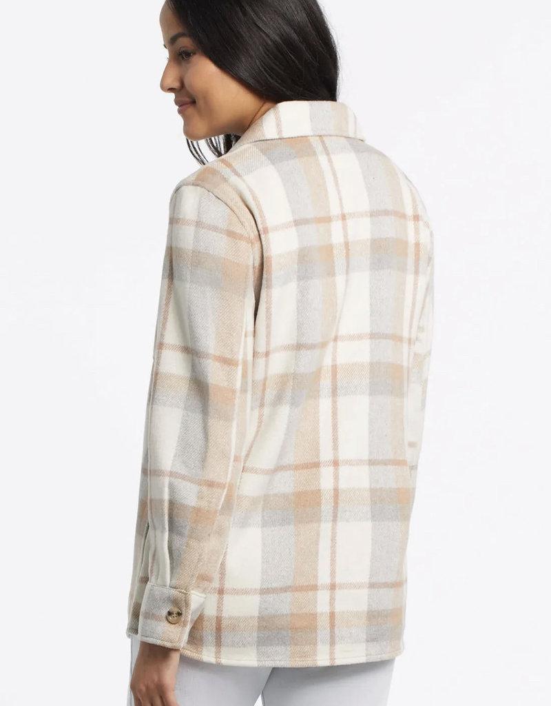 TRI Shacket w/ Notch Collar 47360