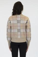 L + L Destiny Plaid Sweater