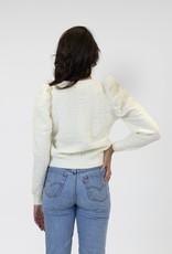 L + L Scotty Puff Sleeve Sweater