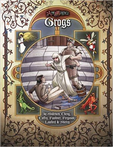 Atlas games Ars Magica RPG: Grogs Hardcover