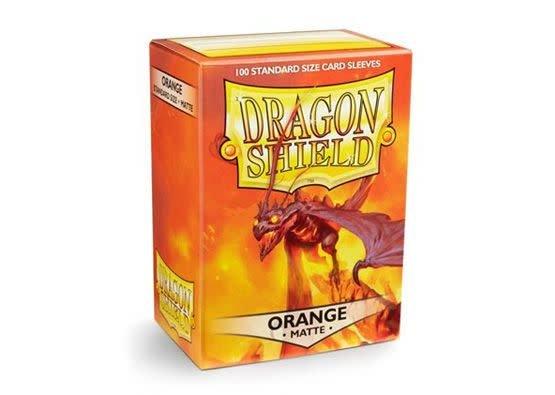 Arcane Tinmen Dragon Shields: (100) Matte, Orange