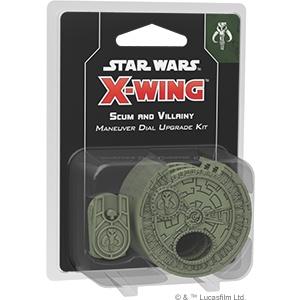 Fantasy Flight Star Wars X-Wing: Scum and Villainy Maneuver dial