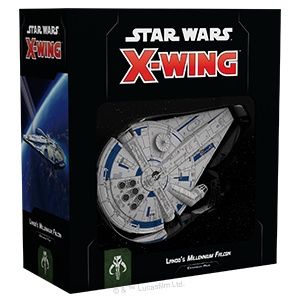 Fantasy Flight Star Wars X-Wing: Lando's Millennium Falcon
