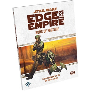 Fantasy Flight Star Wars RPG: Edge of the Empire- Suns of Fortune