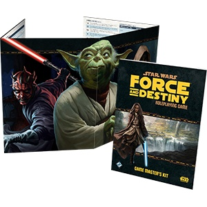 Fantasy Flight Star Wars RPG: Force and Destiny GM Kit