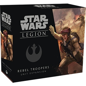 Fantasy Flight Star Wars Legion: Rebel Troopers