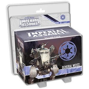 Fantasy Flight Star Wars Imperial Assault: General Weiss Villain Pack