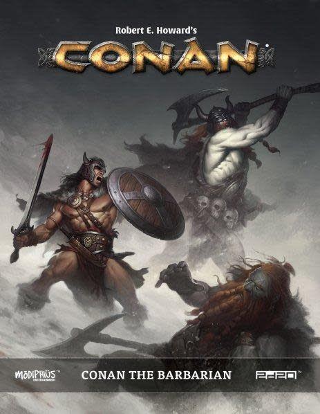 Modiphius Conan RPG: Conan the Barbarian