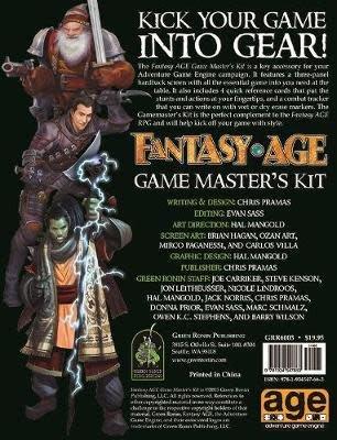 Green Ronin Publishing Fantasy Age RPG: GM Screen