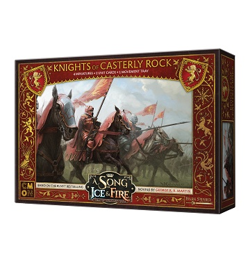 CMON A Song of Ice & Fire Minis: Knights of Casterly Rock