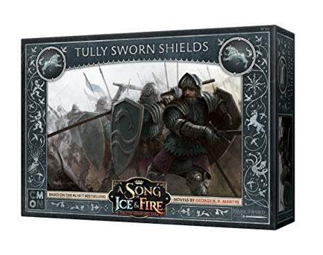 CMON A Song of Ice & Fire: Stark Tully Sworn Shields