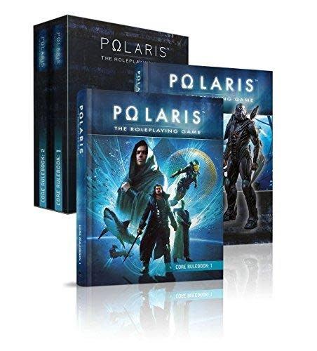 Black Book Editions Polaris RPG: Core Rulebooks 1 & 2