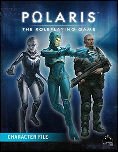 Black Book Editions Polaris RPG: Character File