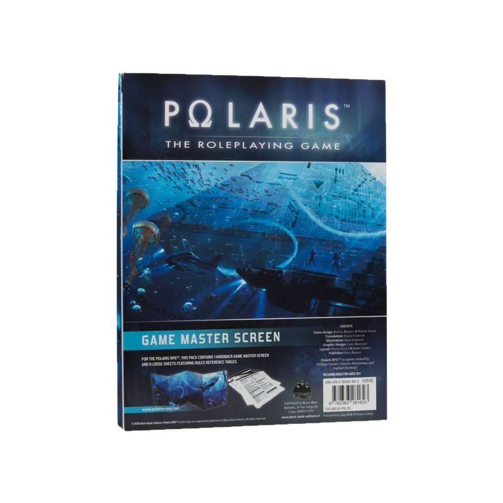 Black Book Editions Polaris RPG: Game Master Screen