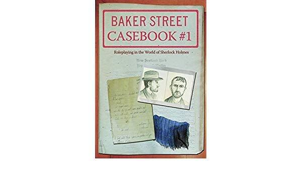 Fearlight Baker Street RPG: Casebook #1