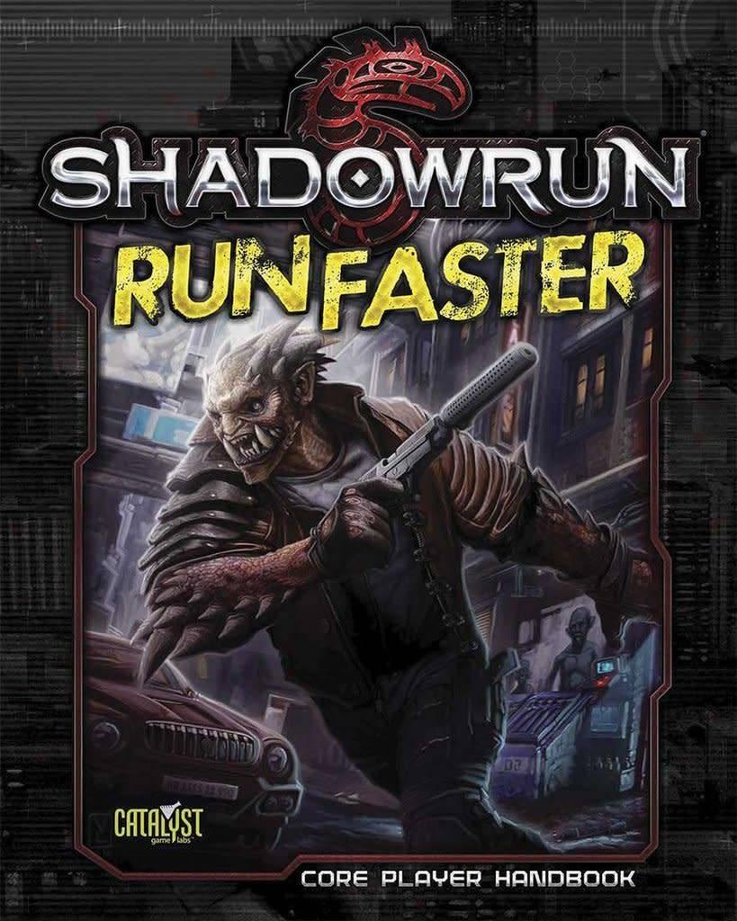 Catalyst Shadowrun RPG: Run Faster player handbook