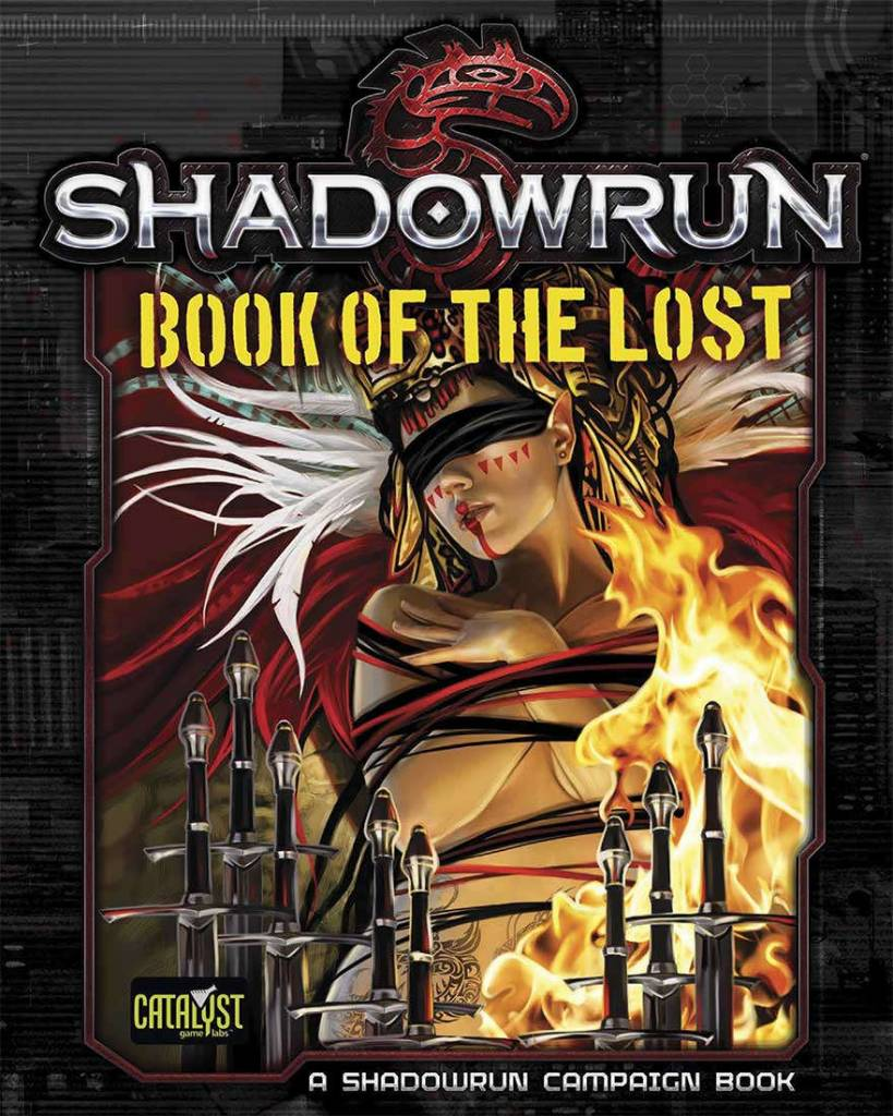 Catalyst Shadowrun RPG: Book of the Lost